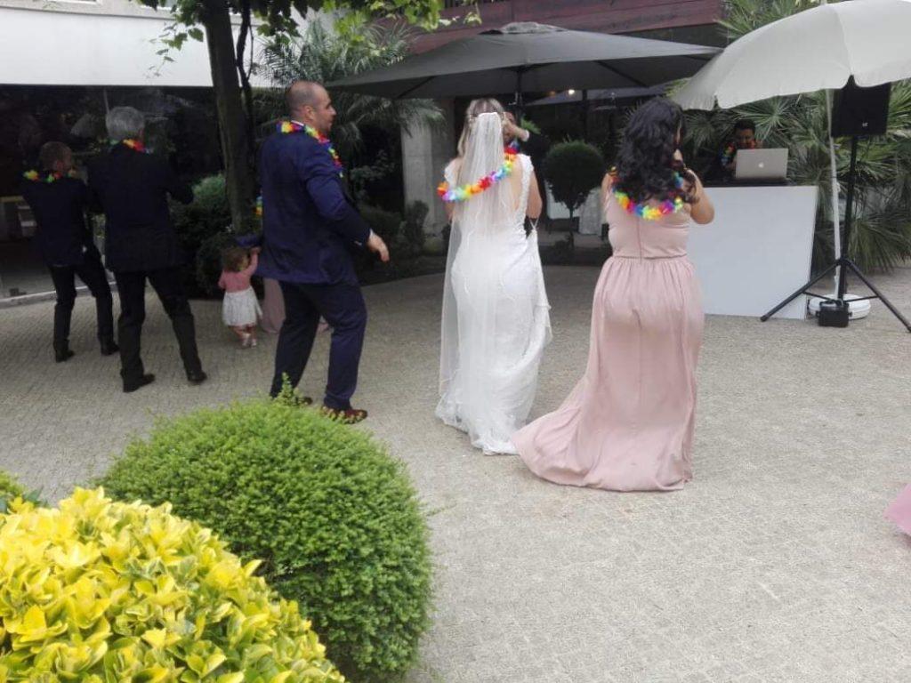 baile de casamento em pandemia