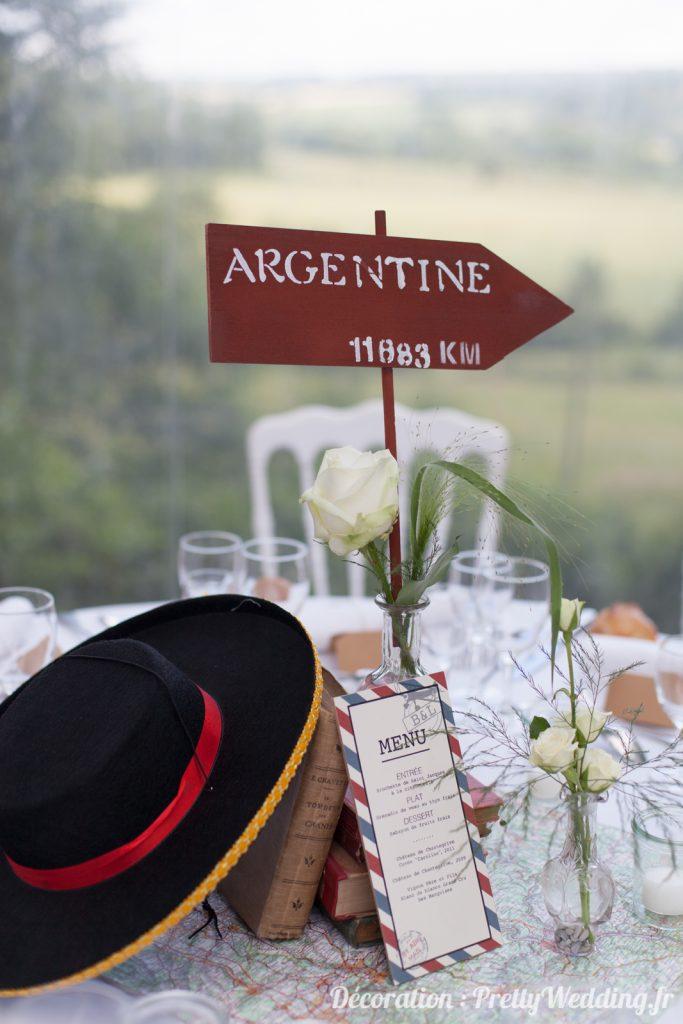Mesa de casamento Argentina