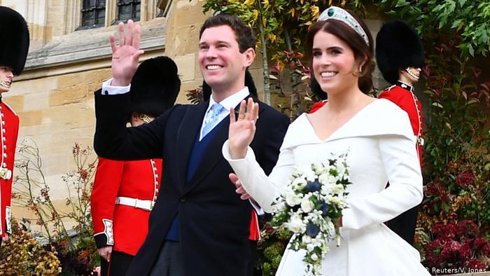 Princesa Eugenie e Jack Brooksbank