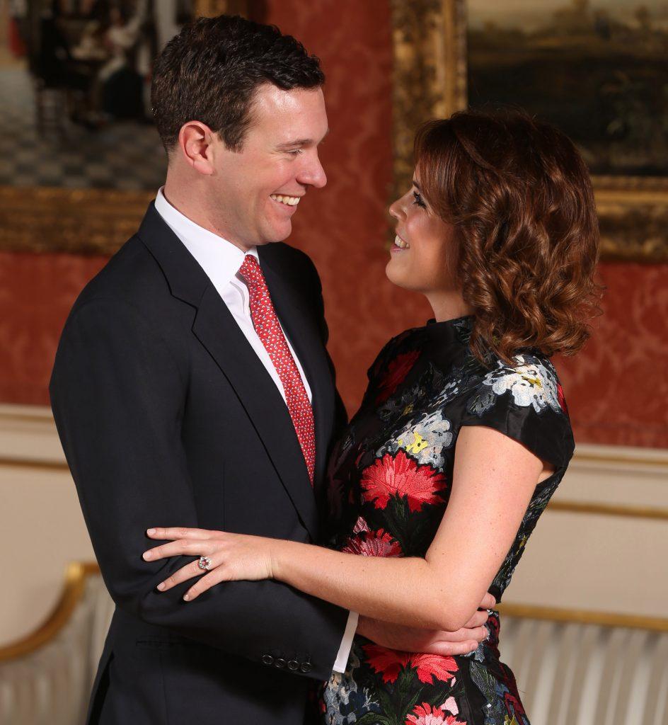 Princesa Eugenie e Jack Brooksbank Foto de Noivado