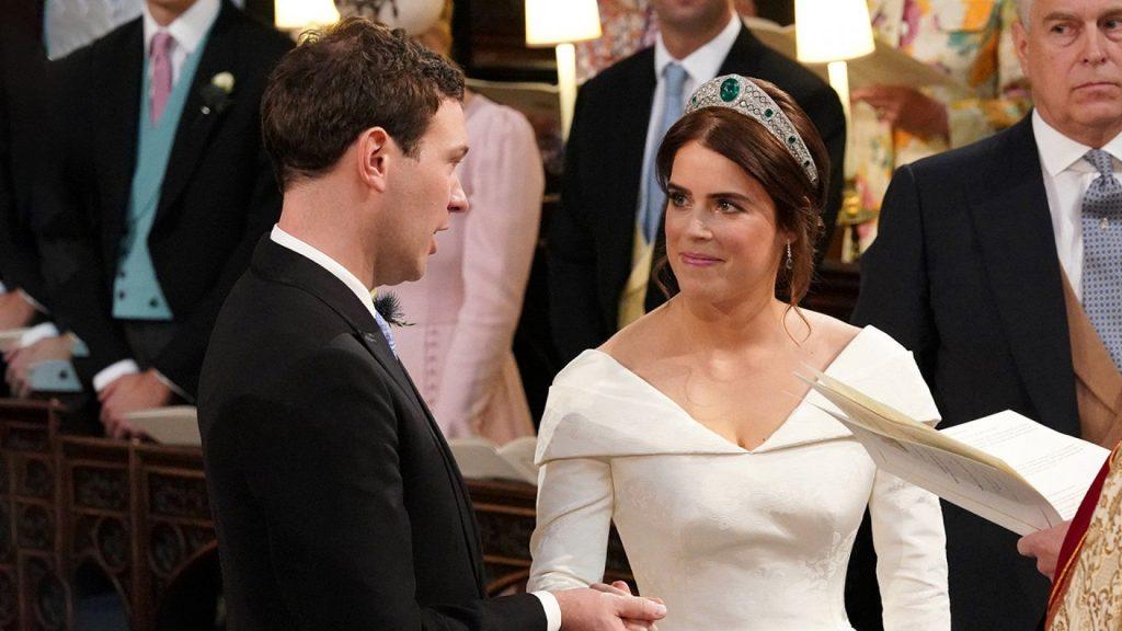 Princesa Eugenie casa-se com Jack Brooksbank