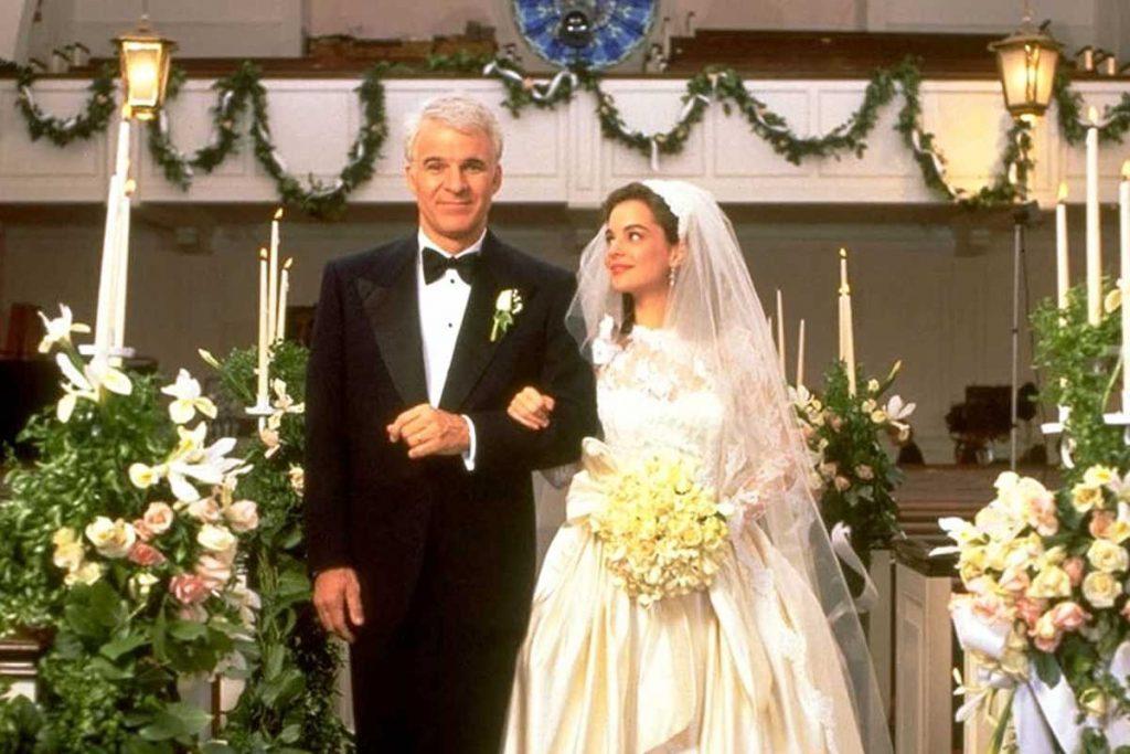 """Annie e George em """"O Pai da Noiva"""""""