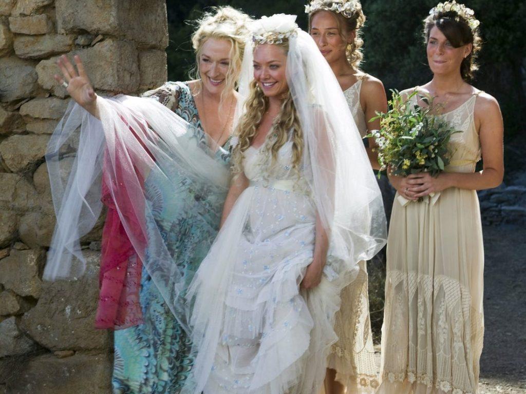 Sophie e Donna Sheridan em Mamma Mia