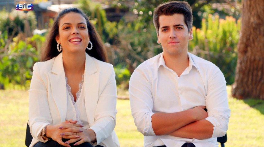 """Paula e Luís em """"O Noivo é que Sabe"""""""