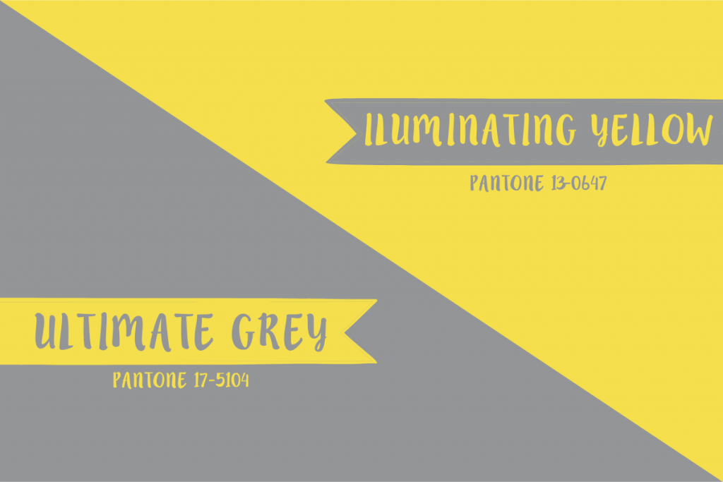 Ultimate Grey e Iluminating Yellow