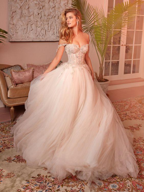 Vestido de Noiva Blush